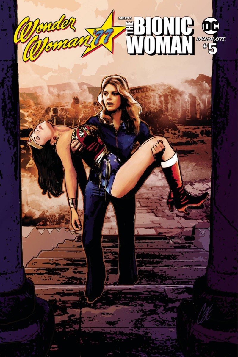 Wonder Woman 77 Bionic Woman #5 CVR A Staggs