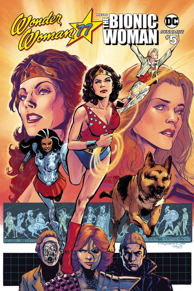 Wonder Woman 77 Bionic Woman #5 CVR B Jimenez