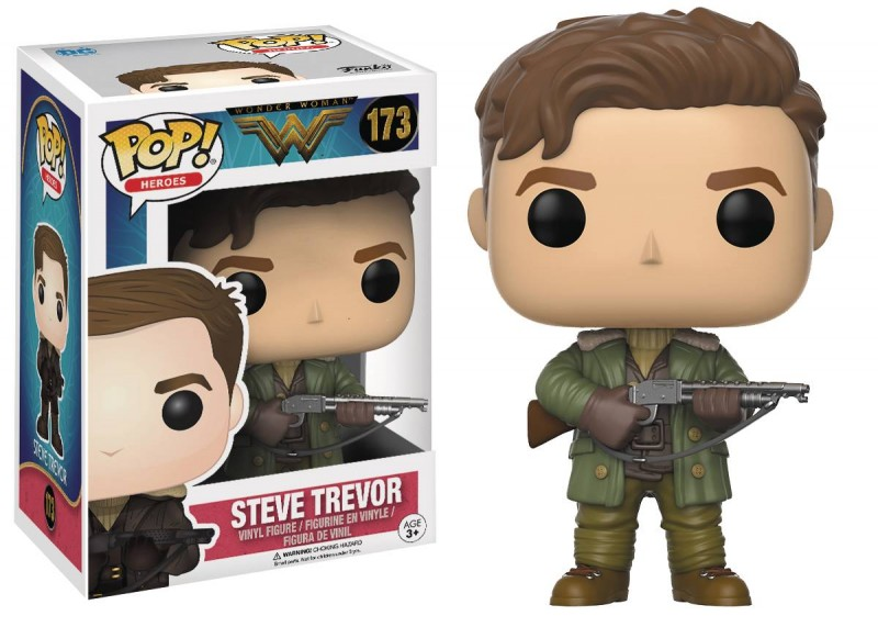Funko Pop Wonder Woman Movie Steve Trevor