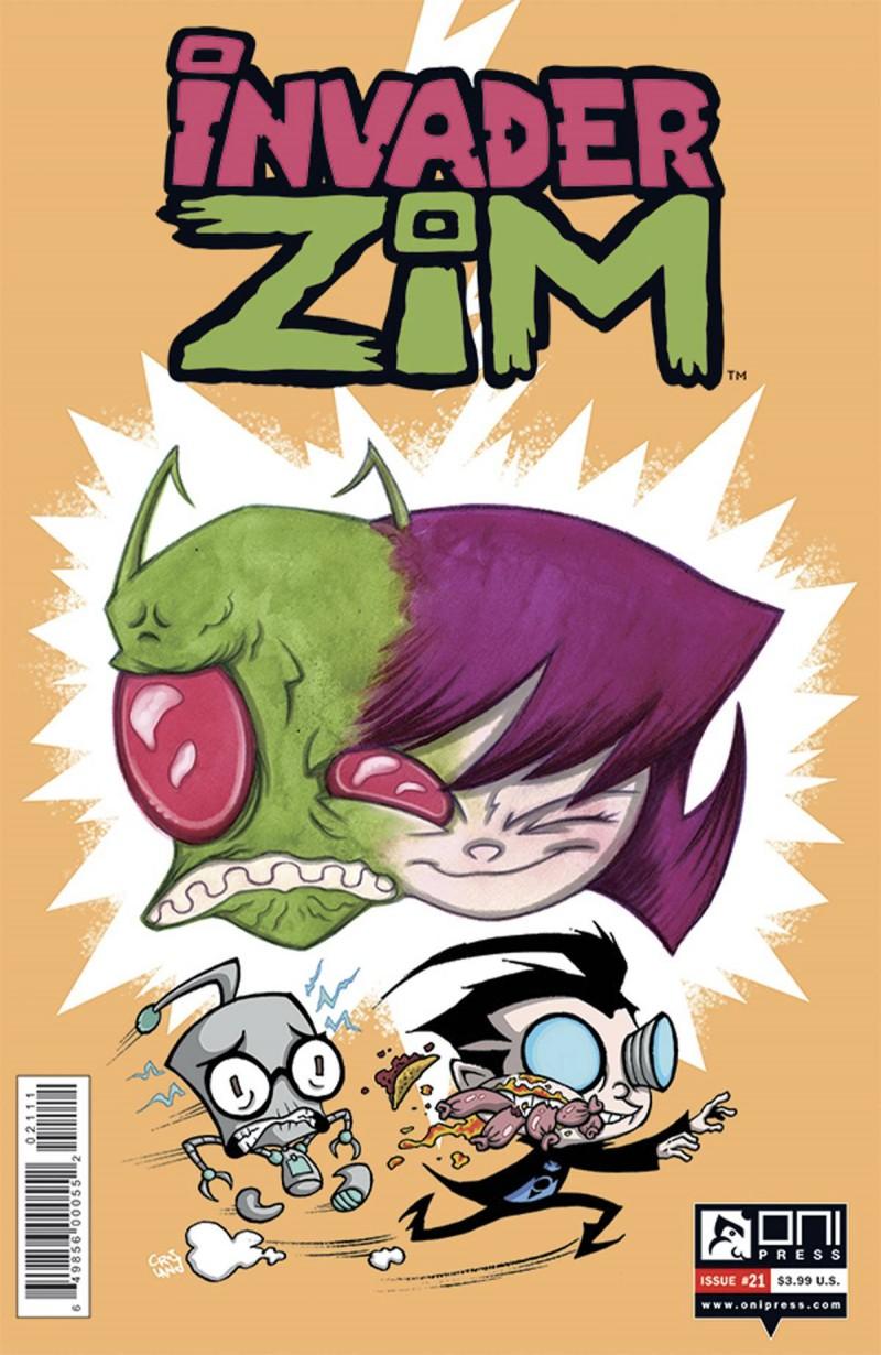 Invader Zim #21 CVR A