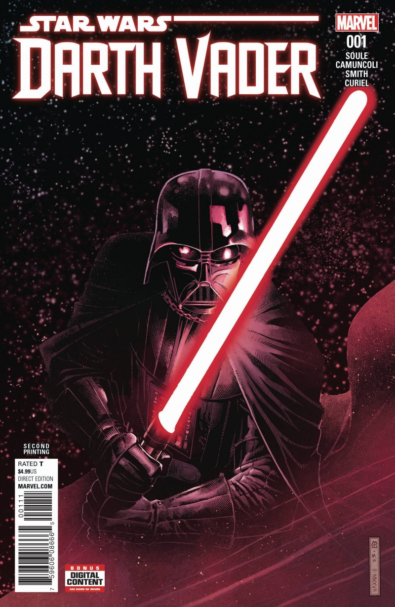 Star Wars Darth Vader #1 Second Printing