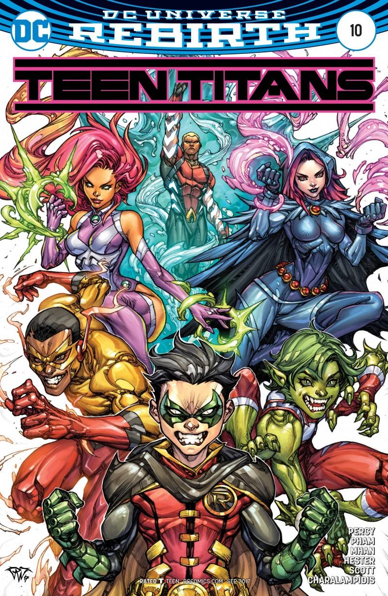 Teen Titans V6 #10 CVR B