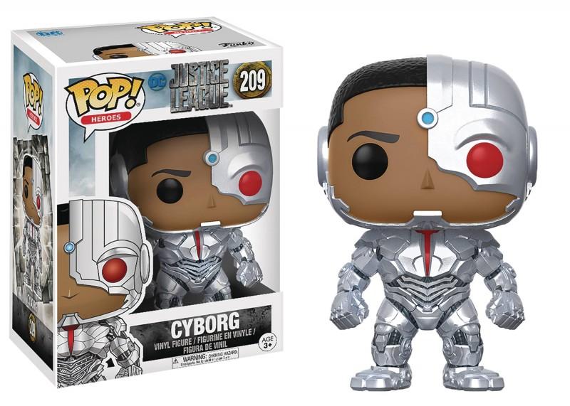 Funko Pop DC Justice League Movie Cyborg