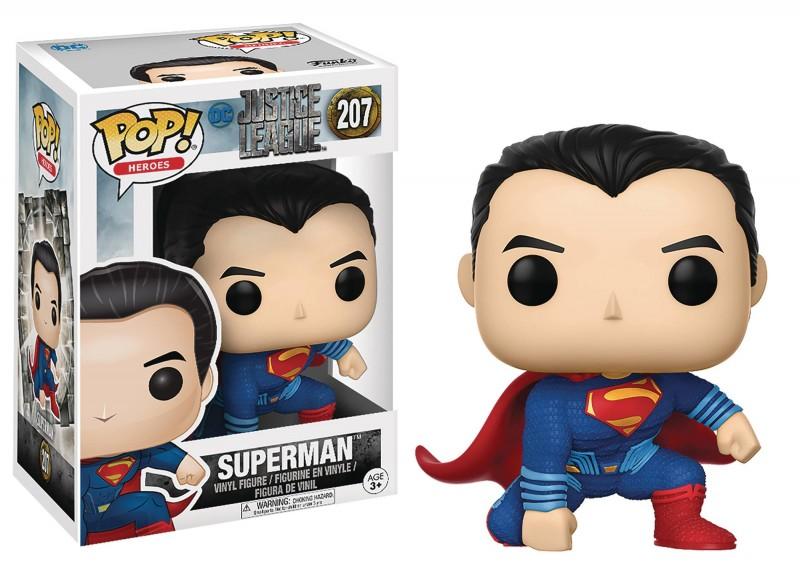 Funko Pop DC Justice League Movie Superman