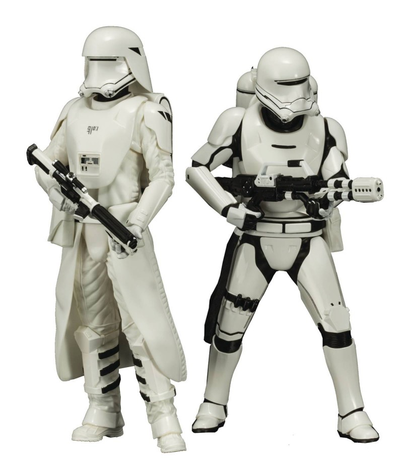 Star Wars Statue Artfx E7 Snowtrooper and Flametrooper
