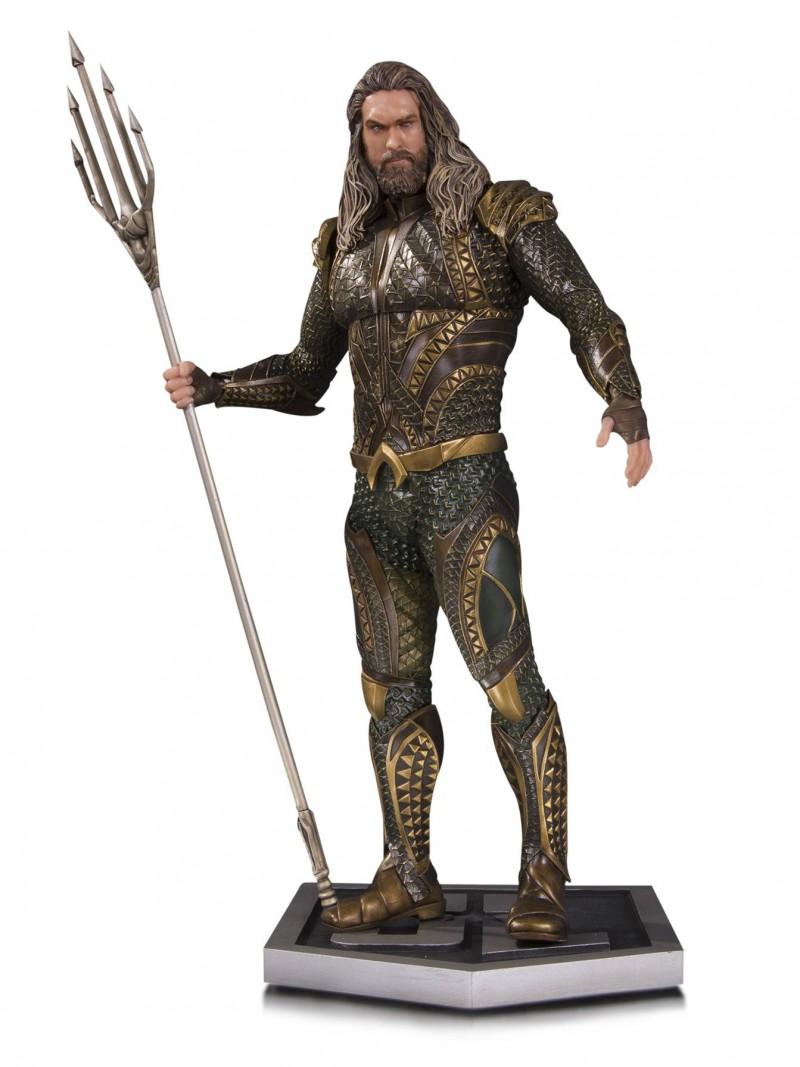 DC Statue Justice League Movie Aquaman