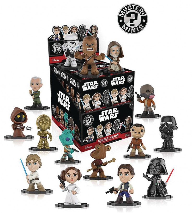 Star Wars Mystery Minis Mystery Box