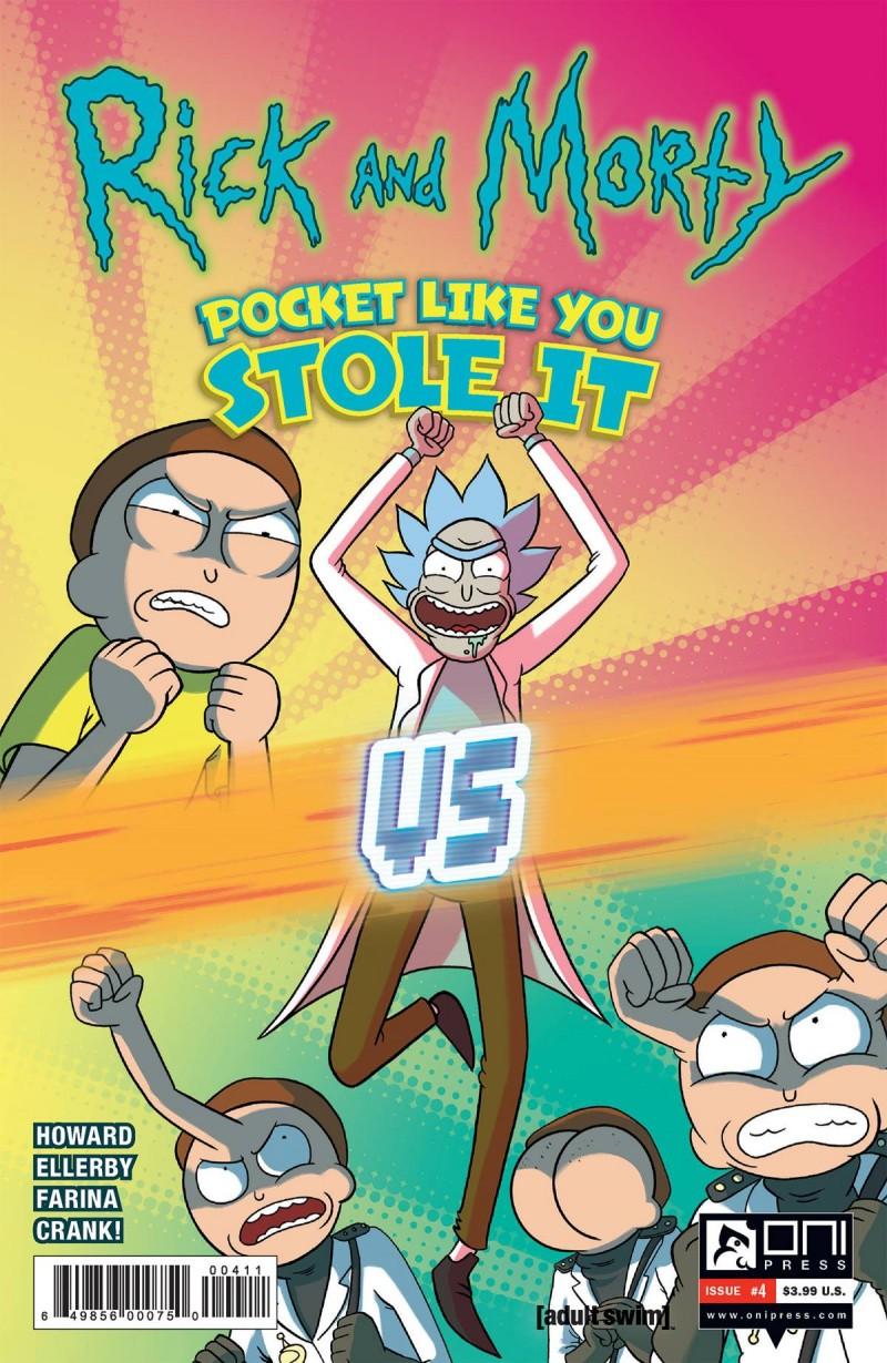 Rick and Morty Pocket Like You Stole It #4 CVR A