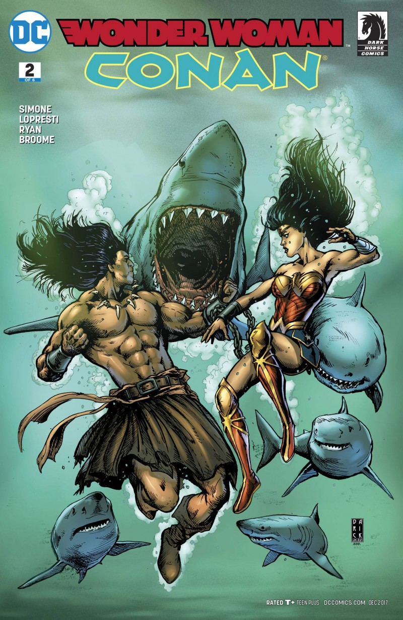 Wonder Woman Conan #2 CVR A