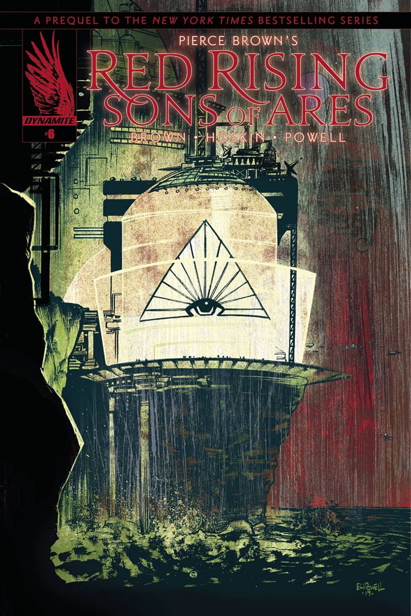 Pierce Brown Red Rising #2 CVR B Powell - Zeus Comics, Dallas TX