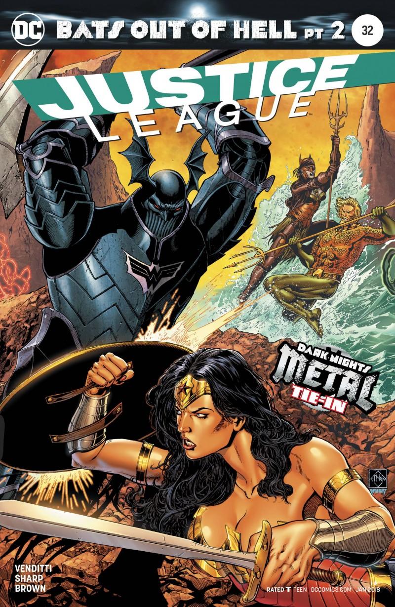Justice League V2 #32 (Metal) CVR A