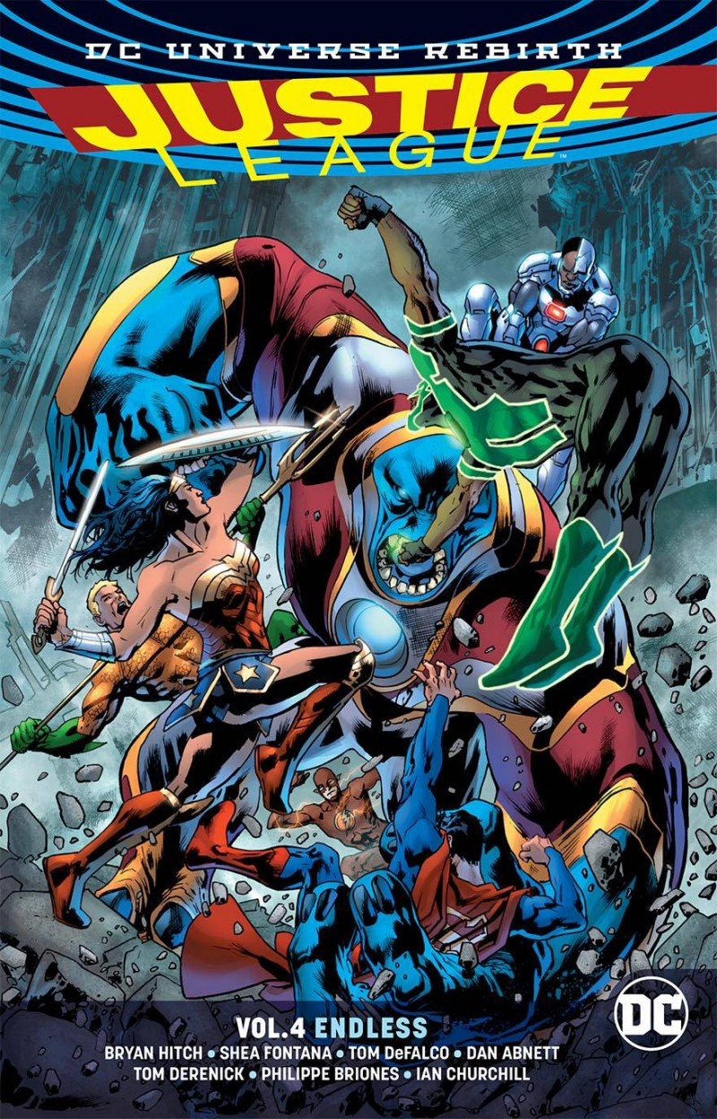 Justice League TP Rebirth V4 Endless