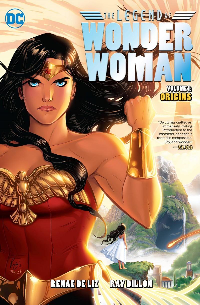 Wonder Woman TP Legend of Wonder Woman Origins