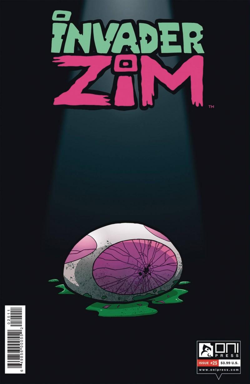 Invader Zim #25 CVR A