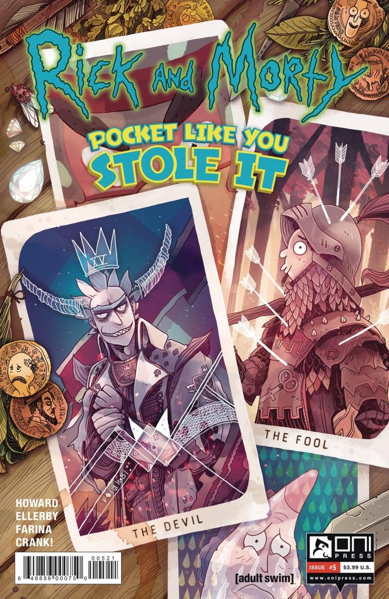 Rick and Morty Pocket Like You Stole It #5 CVR B