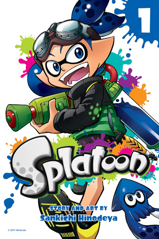 Splatoon Manga GN