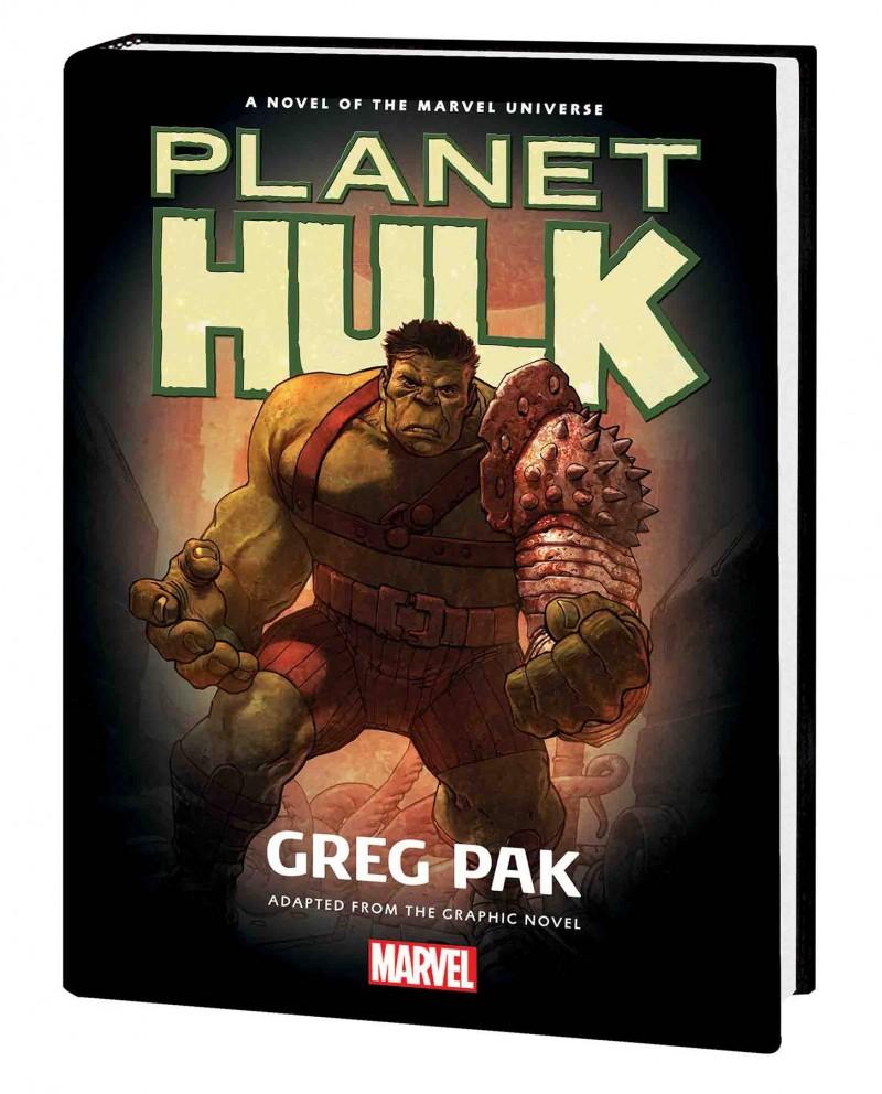 Hulk HC Planet Hulk Prose Novel