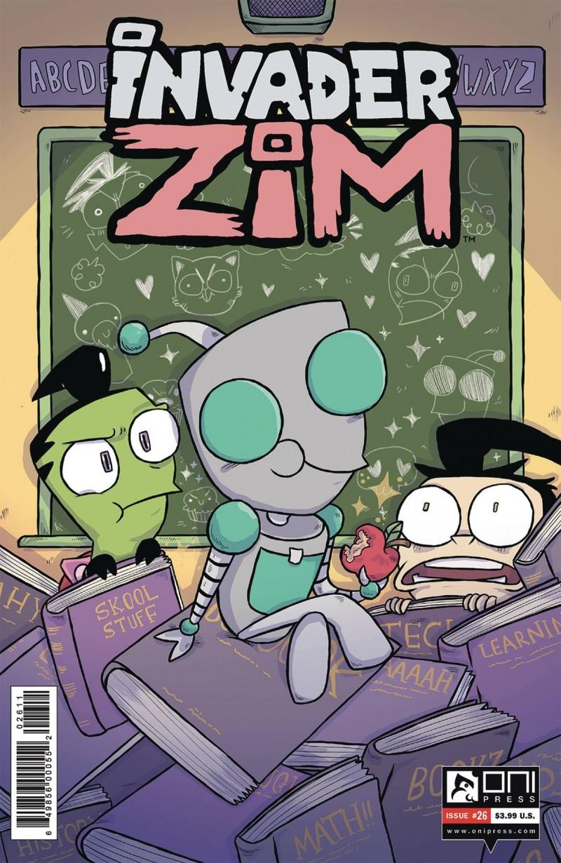 Invader Zim #26 CVR A