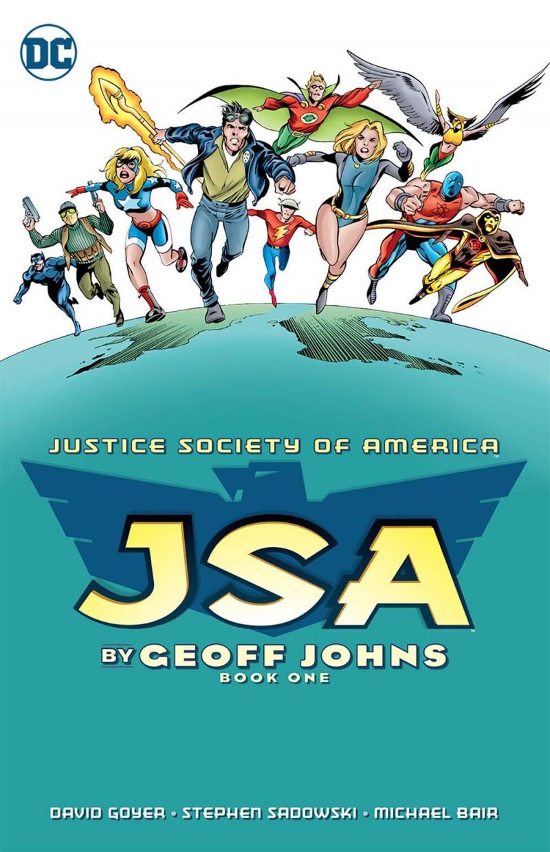 JSA TP Geoff Johns V1