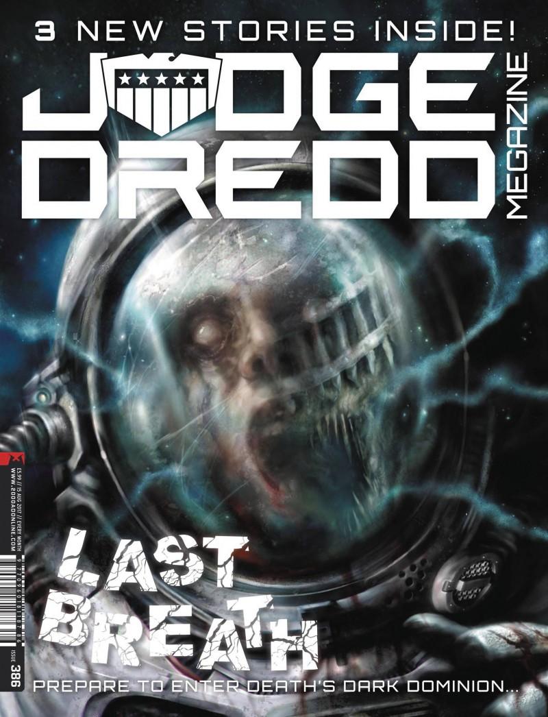 Judge Dredd Megazine #390