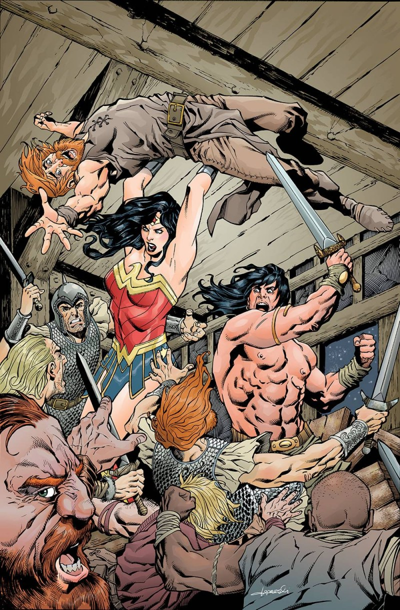Wonder Woman Conan #4 CVR B