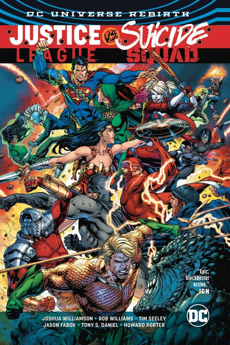 Justice League Vs Suicide Squad TP
