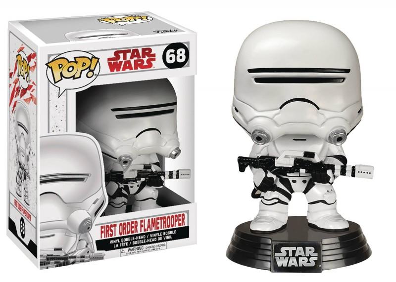 Funko Pop Star Wars E8 First Order Flametrooper