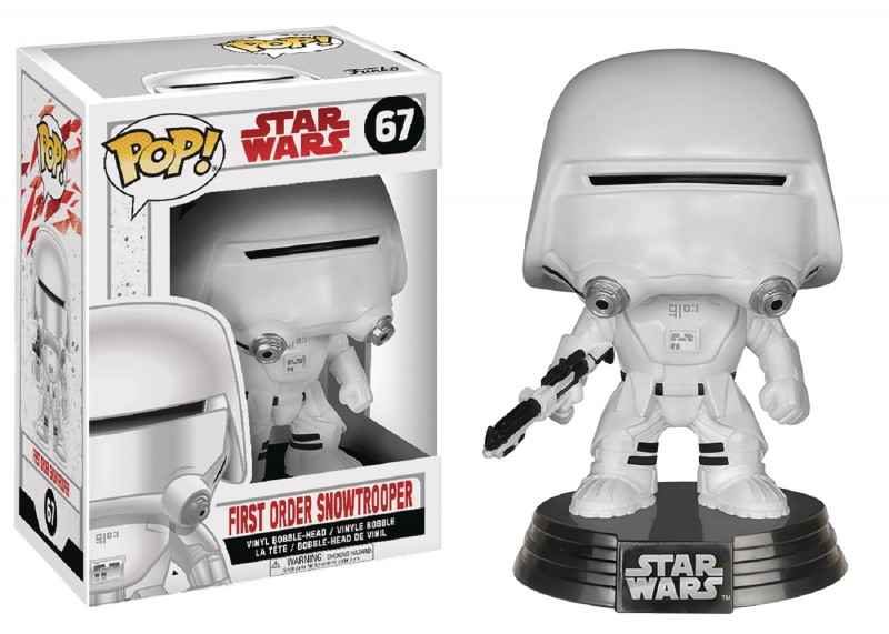 Funko Pop Star Wars E8 First Order Showtrooper