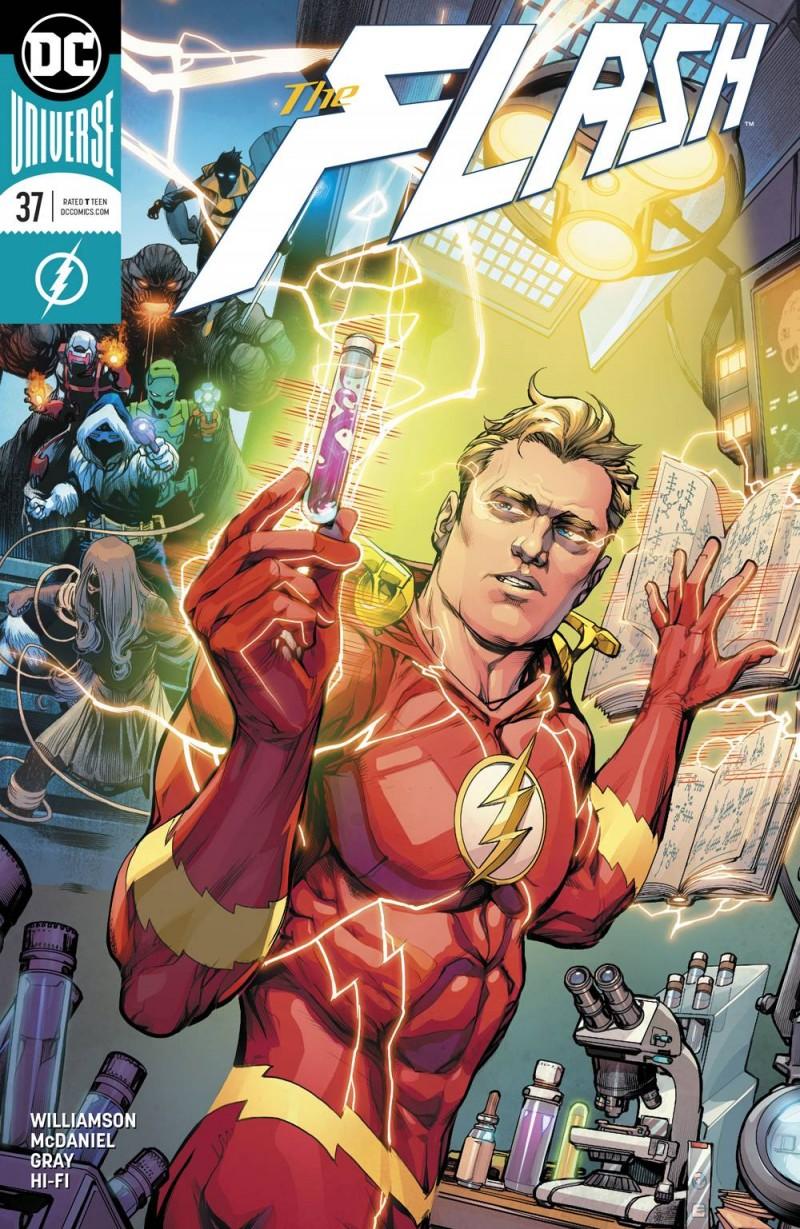 Flash V7 #37 CVR B