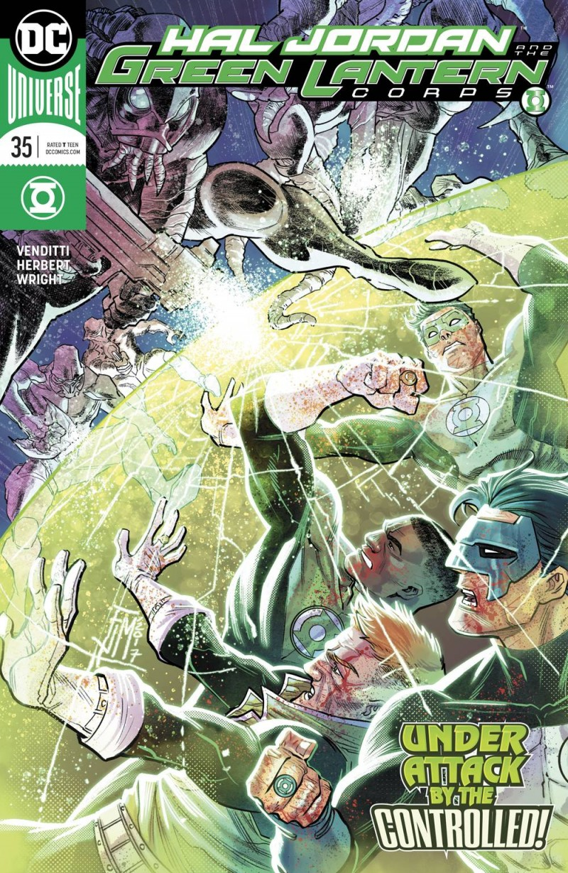Hal Jordan and the Green Lantern Corps #35 CVR A