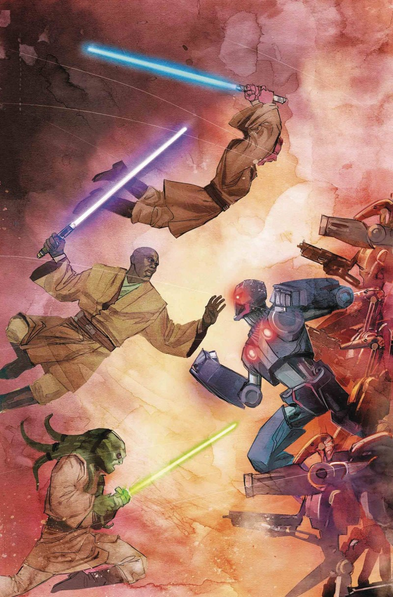 Star Wars Jedi Republic Mace Windu #5