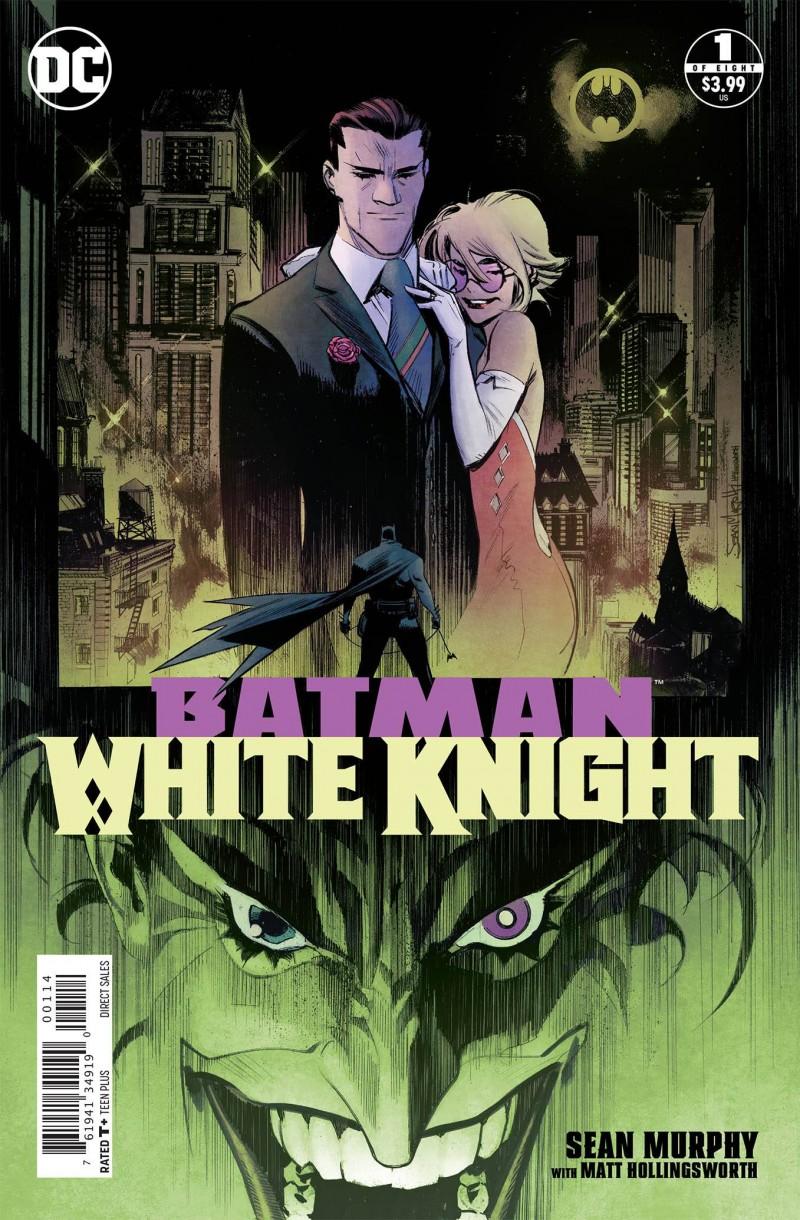Batman White Knight #3 Second Printing