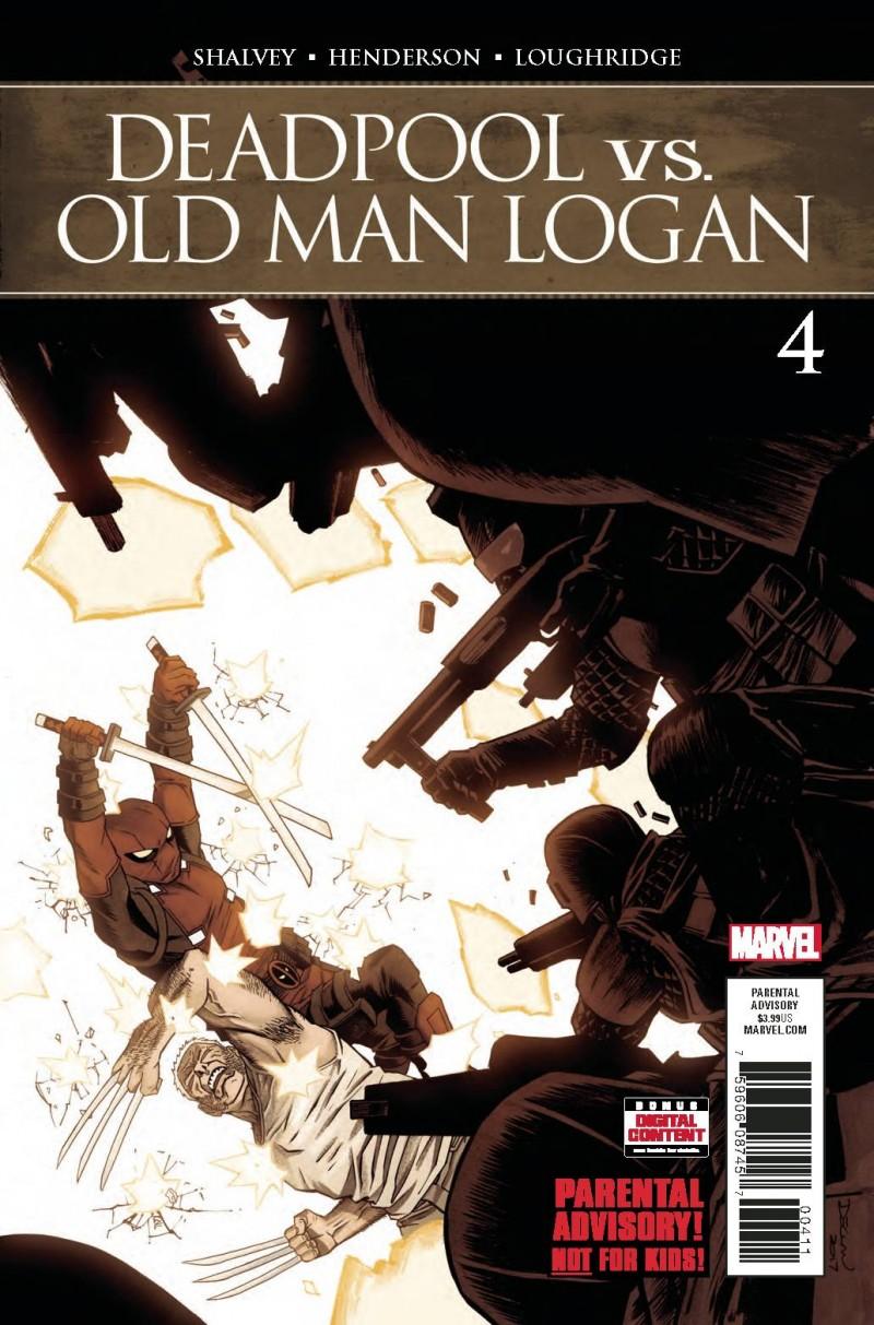 Deadpool Vs Old Man Logan #4