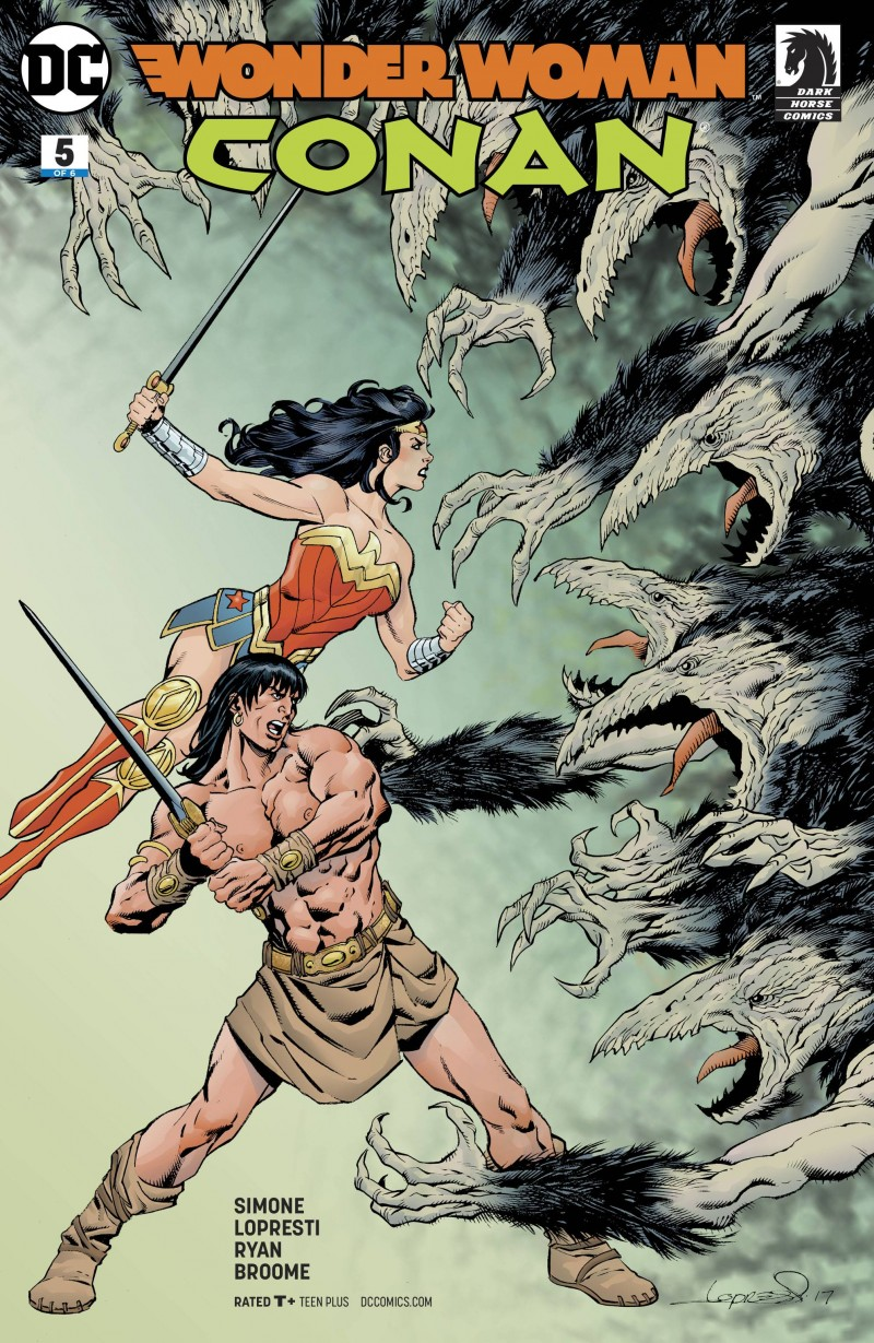 Wonder Woman Conan #5 CVR A