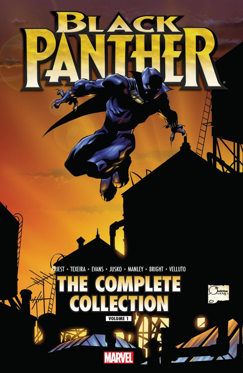 Black Panther TP Priest Complete Collection