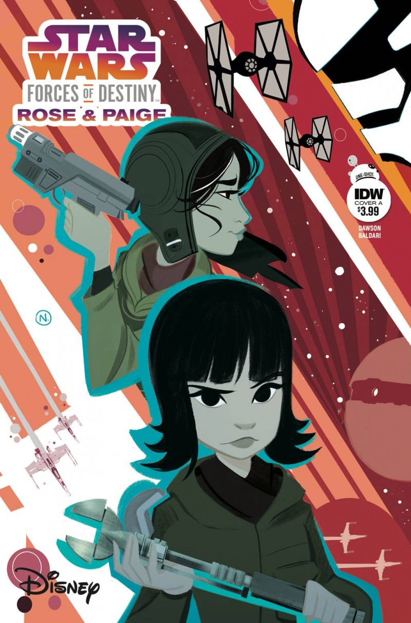 Star Wars Adventure Forces of Destiny Rose and Paige CVR A