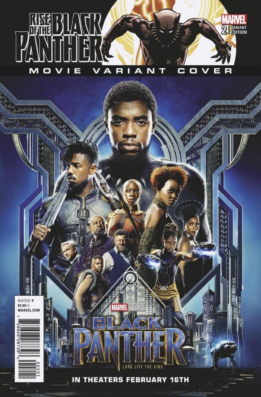 Rise of Black Panther #2 CVR B