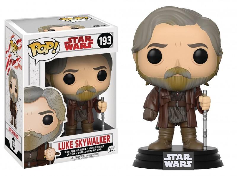 Funko Pop Star Wars E8 Luke Skywalker