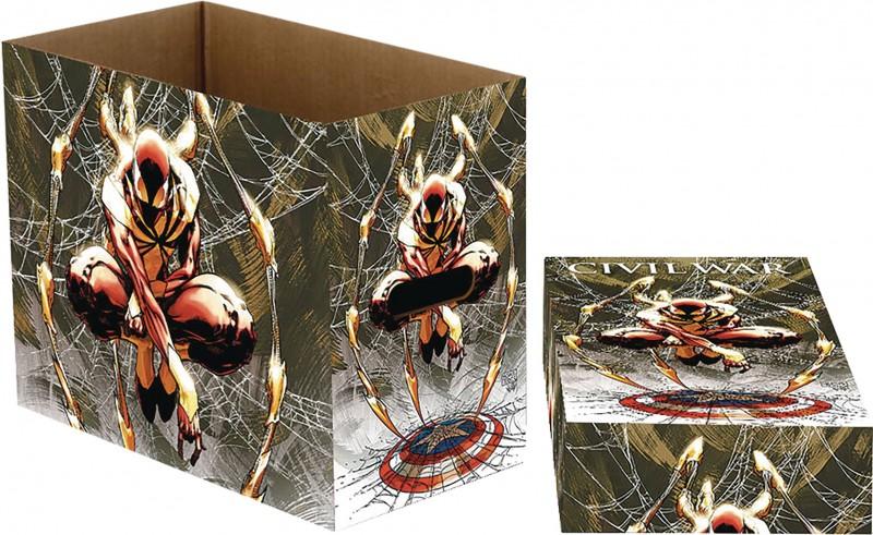 Marvel Comics Short Box Spider-Man Web