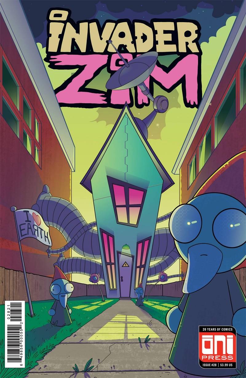 Invader Zim #28 CVR B