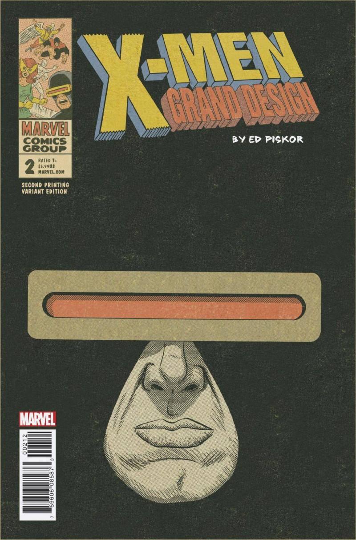X-Men Grand Design #2 Second Printing