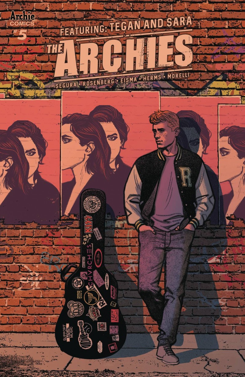 Archies #5 CVR A Smallwood