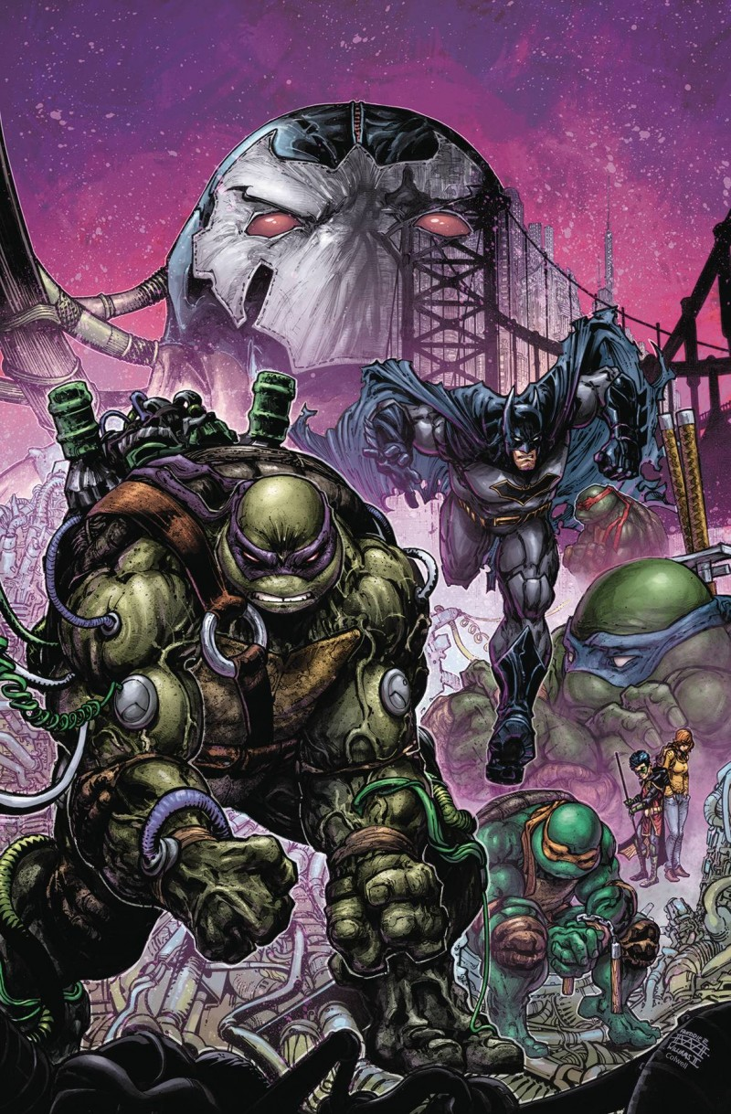Batman Teenage Mutant Ninja Turtles II #4 CVR A