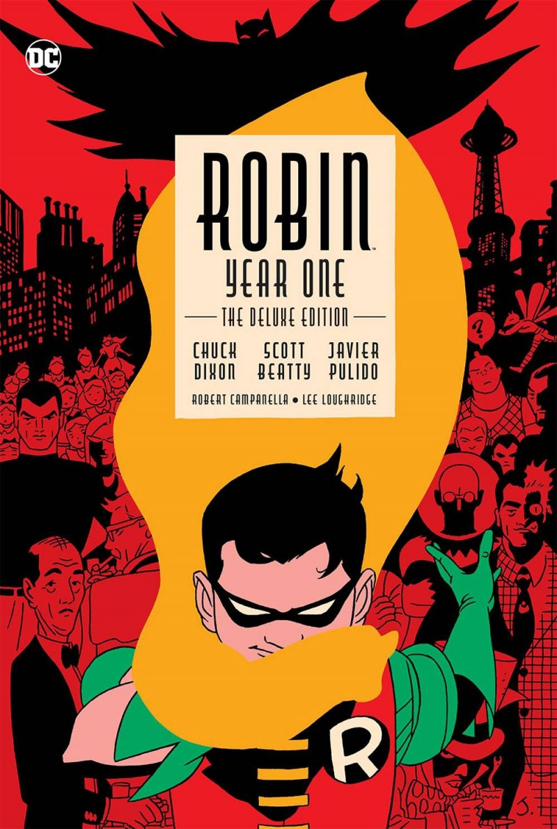 Robin HC Year One Deluxe Edition
