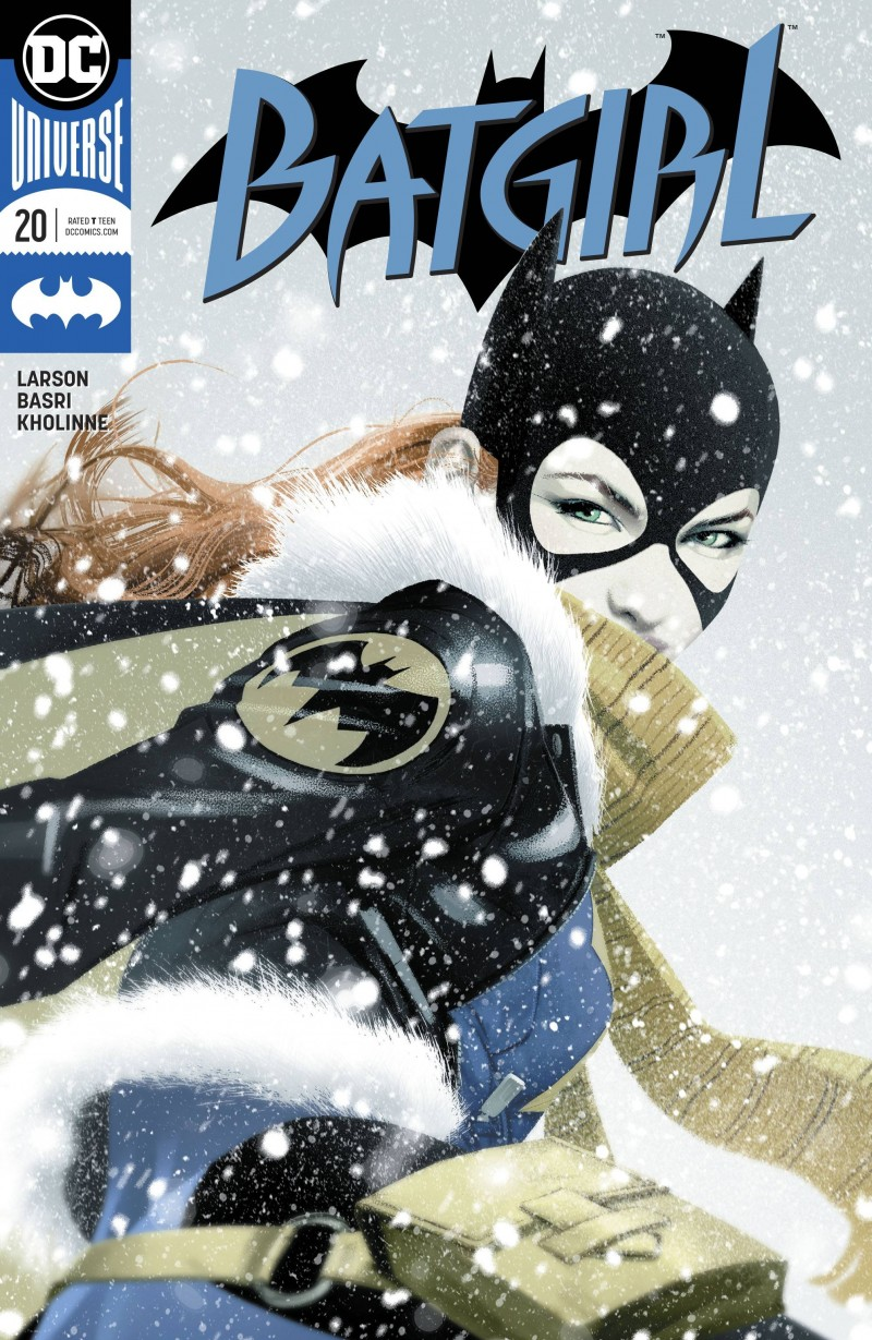 Batgirl V5 #20 CVR B