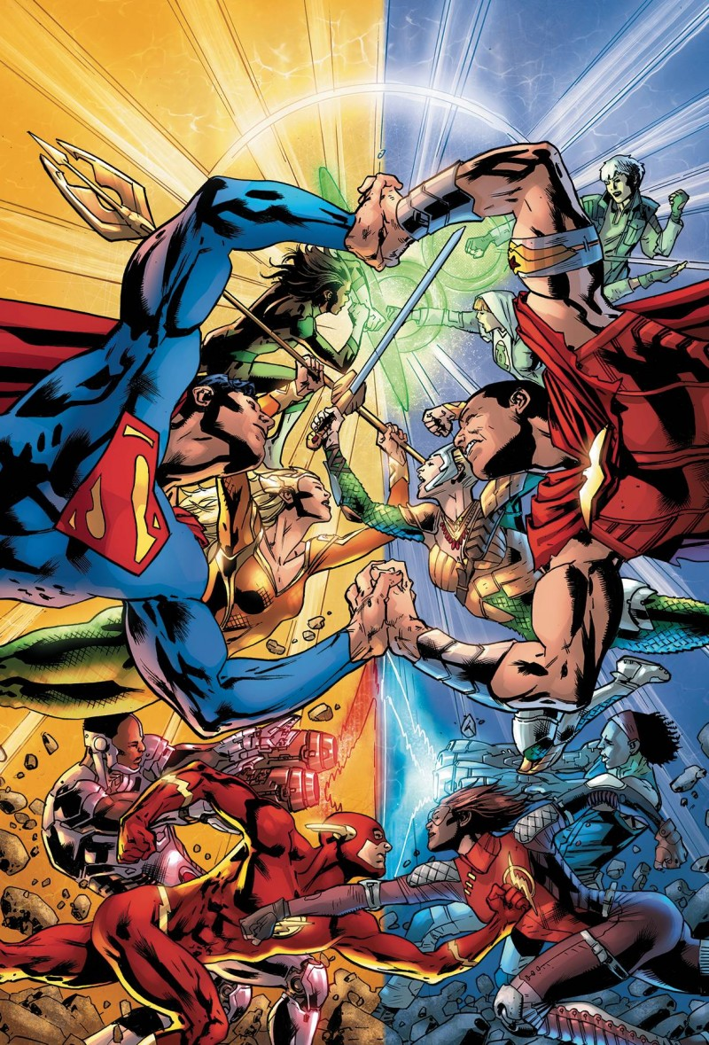 Justice League TP Rebirth V5 Legacy