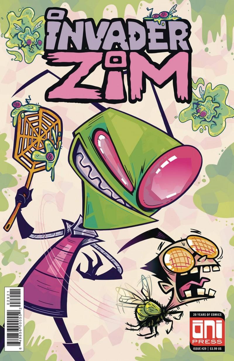 Invader Zim #29 CVR B
