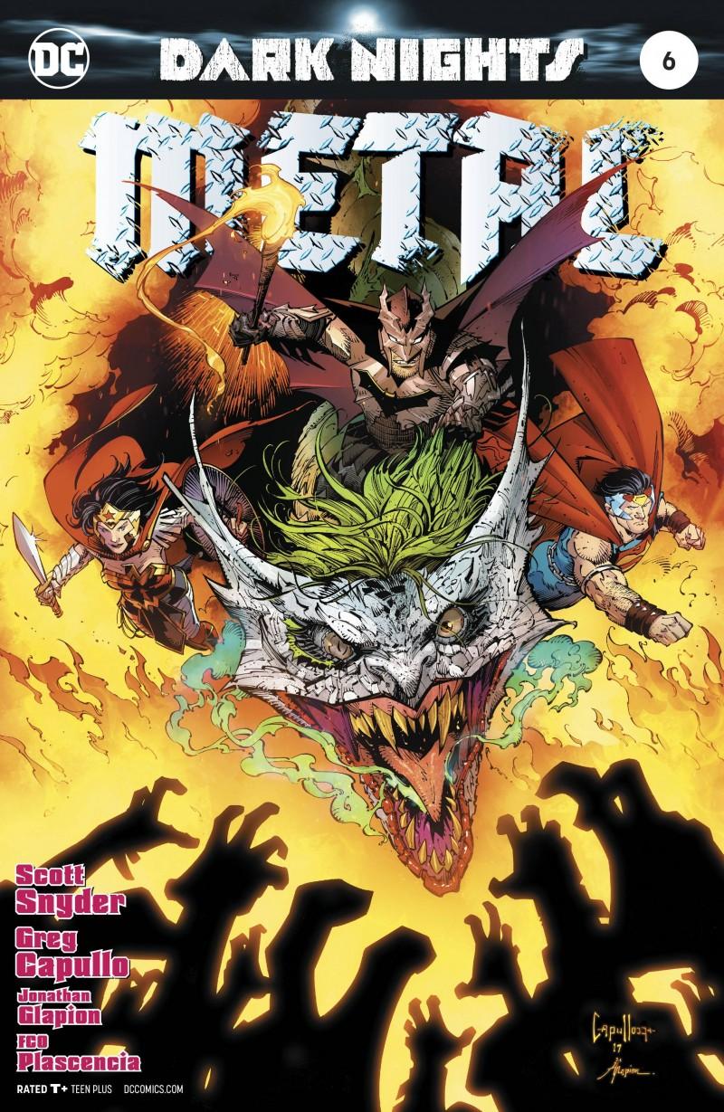 Dark Nights Metal #6 CVR A Capullo