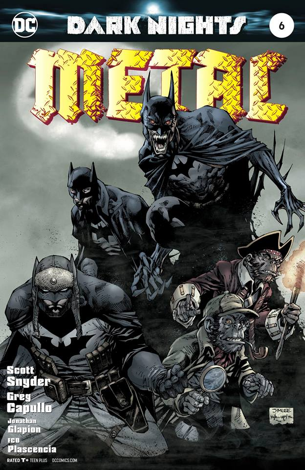 Dark Nights Metal #6 CVR D Lee