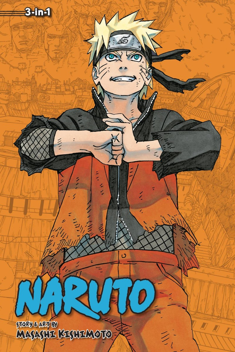 Naruto GN 3-in-1